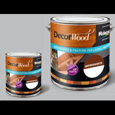 Матовое защитное водорастворимое покрытие для древесины Colori Decora Decor Wood All'acqua база B (белая)
