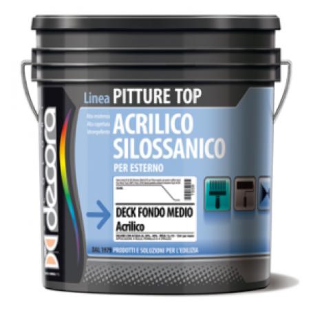 Грунтовка силоксановая пигментированная Colori Decora Deck Fondo Medio al Silossani база T (прозрачная)