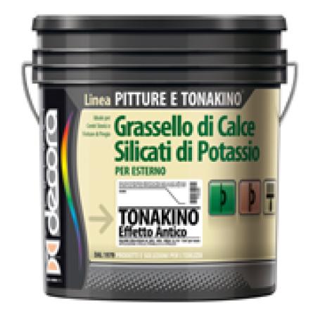 Декоративная штукатурка Colori Decora Tonakino a Calce Effetto Antico база B (белая)