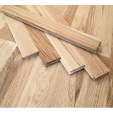 Паркет из экологически чистой древесины 250х50 мм Карамель