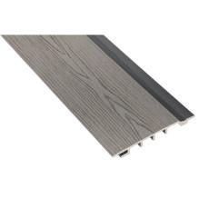 Фасадная доска Polymer Wood (сайдинг из ДПК) 150x18 антрацит