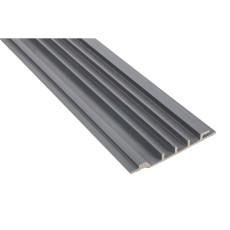 Фасадная доска Polymer Wood (сайдинг из ДПК) 150x18 серый