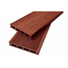 Фасадная доска Tardex Wood облицовочная с текстурой дерева терракот