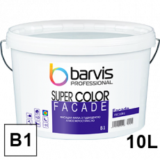 Краска фасадная Barvis Facade Super Color база b1(белая)