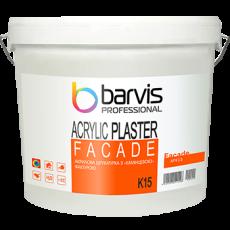 Штукатурка фасадная Barvis Facade Acrylic K 15 база b1(белая)