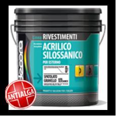 Фасадная штукатурка Colori Decora Spatolato Granello Ai Silossani  1,2 мм база T (прозрачная)