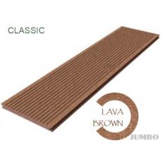 Террасная доска Megawood Classic Jumbo Lava Brown