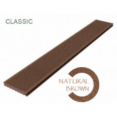 Террасная доска Megawood Classic Natural Brown