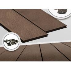 Террасная доска Megawood Premium Plus Jumbo Lava Brown