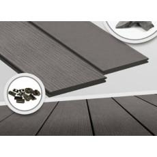 Террасная доска Megawood Premium Plus Jumbo Slate Grey
