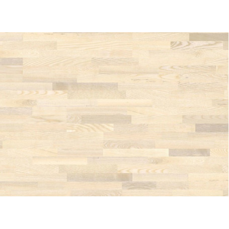 Паркетная доска GRABO JIVE 3 stripe ASH WHITE MATT LACQUERED