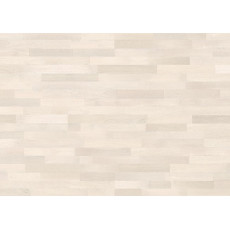 Паркетная доска GRABO JIVE 3 stripe OAK WHITE MATT LACQUERED