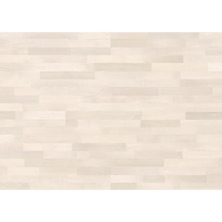 Паркетная доска GRABO JIVE 3 stripe OAK WHITE MATT LACQUERED