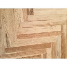 Паркет из экологически чистой древесины 350х70 мм Карамель