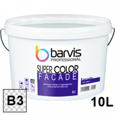 Краска фасадная Barvis Facade Super Color база b3(прозрачная)