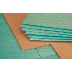 Подложка под ламинат Pro Floor 2 мм 0,5х1,0 м  (10 м.кв.) зеленая