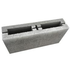 """Блок бетонный перегородочный """"под распил"""", серый"""