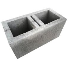 """Блок бетонный стеновой """"под распил"""", серый"""